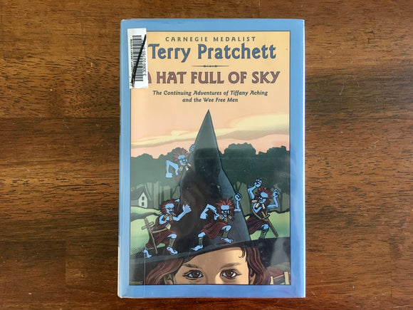 A Hat Full of Sky by Terry Pratchett, HC DJ, Tiffany Aching and the Wee Free Men
