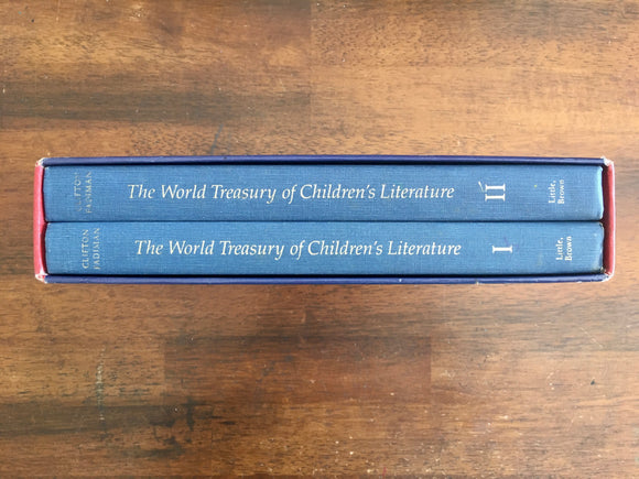 The World Treasury of Children's Literature, 2-Book Set in Slipcase, Selected by Clifton Fadiman