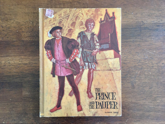 The Prince and the Pauper by Mark Twain, Illustrated by Dunbracco Dempster, 1969