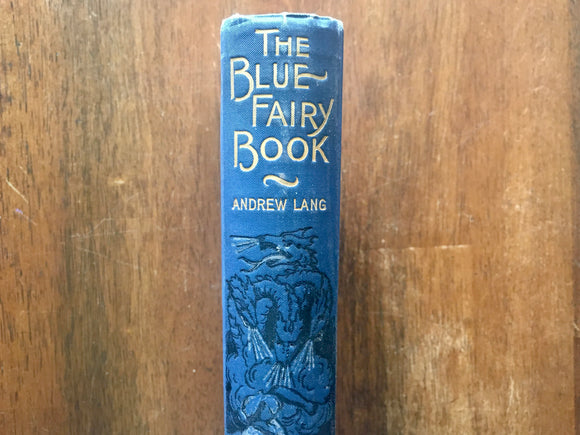 The Blue Fairy Book by Andrew Lang, Antique, Hardcover, Illustrated