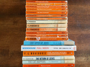 P.G. Wodehouse Lot of 19 Books