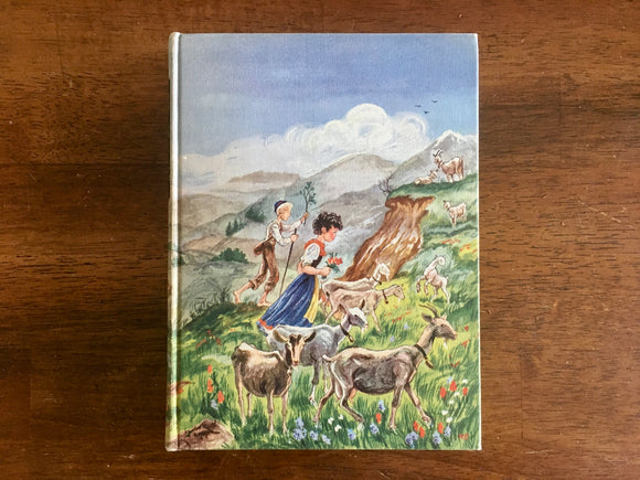 Heidi by Johanna Spyri, Illustrated Junior Library, Vintage 1945