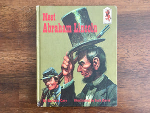Meet Abraham Lincoln by Barbara Cary, Step-Up Book, Vintage 1965