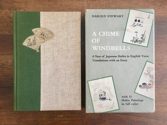 A Chime of Windbells, Harold Stewart, A Year of Japanese Haiku in English Verse, 1969