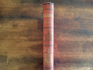 Redgauntlet by Sir Walter Scott, Watch Weel Edition, Antique 1900, Illustrated