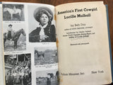 America's First Cowgirl: Lucille Mulhall by Beth Day, Messner, Vintage 1957, 2nd Print