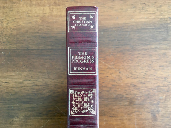 Pilgrim's Progress by John Bunyan, Vintage 1978, Hardcover Book