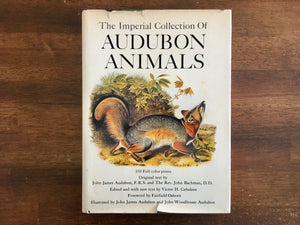 Imperial Collection of Audubon Animals, Vintage 1967, Quadrupeds of North America
