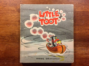 Little Toot by Hardie Gramatky, Vintage 1939, Hardcover Book, Illustrated