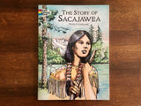 The Story of Sacajawea, Coloring Book, Peter F Copeland, Dover