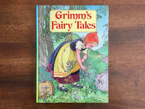 Grimm's Fairy Tales, Vintage 1985, Illustrated, Hardcover Book