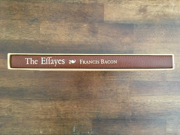 The Essays of Francis Bacon, Heritage Press, Vintage 1972, Hardcover in Slipcover