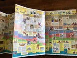 The Junior Wall Chart of History by Christos Kondeatis, Vintage 1990, Hardcover