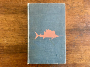 Marine Game Fishes of the World by Francesca La Monte, Illustrated by Janet Roemhild, Vintage 1952, Hardcover Book