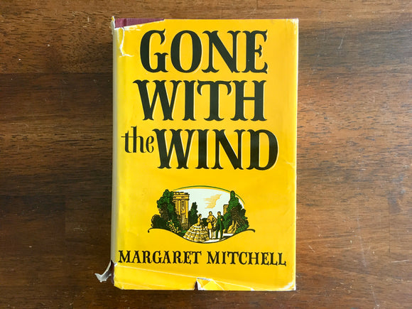 Gone With the Wind by Margaret Mitchell, Vintage 1964, Hardcover with Dust Jacket