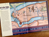 My New York by Kathy Jakobsen, Hardcover Book with Dust Jacket, Illustrated, 1st Edition