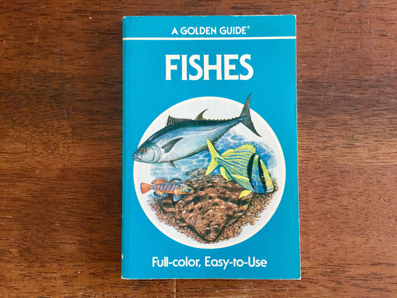 Fishes, A Golden Guide, Vintage 1987