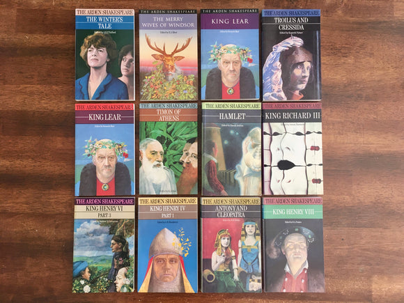The Arden William Shakespeare, 12-Book Lot, Paperback, Classics