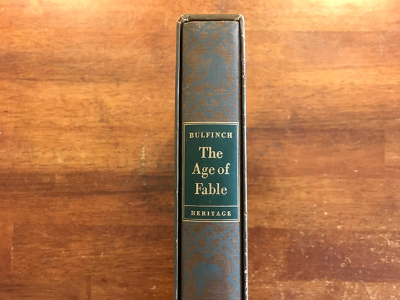 The Age of Fable by Thomas Bulfinch, Heritage Press, Illustrated by Joe Mugnaini