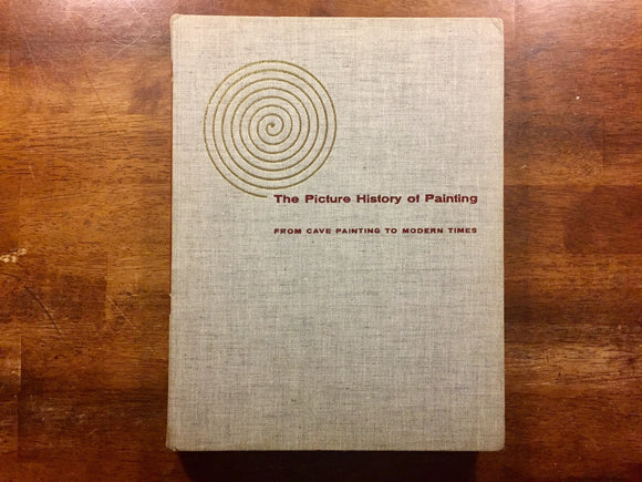 The Picture History of Painting by Janson, Vintage 1957, Hardcover Book
