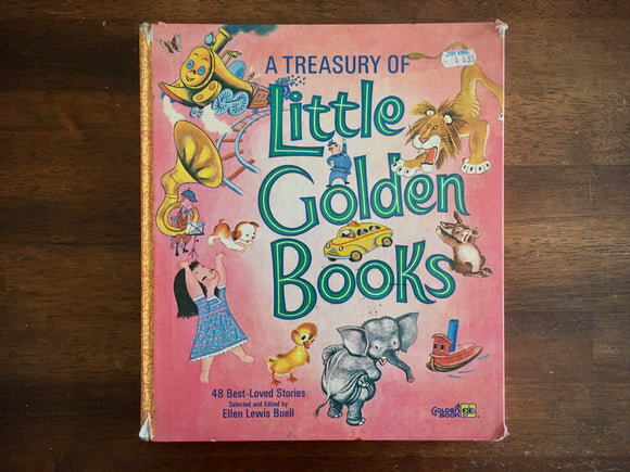 Treasury of Little Golden Books, 48 Best-Loved Stories, 1972