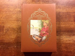 The Adventures of Huckleberry Finn by Mark Twain, Hardcover, Illustrated Book with Ribbon Bookmark