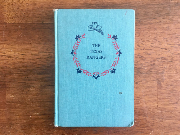 The Texas Rangers by Will Henry, Landmark Book, Vintage 1957, 1st Printing