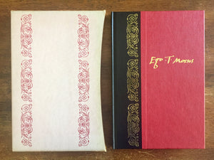 A Man of Singular Virtue being a Life of Sir Thomas More by his son-in-law William Roper and a selection of More's Letters (selected by A.L. Rowse), The Folio Society, Vintage 1980