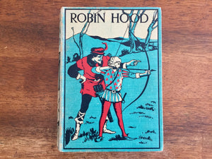 Robin Hood and His Merry Outlaws, Illustrated by N.C. Wyeth, Hardcover Book, Vintage