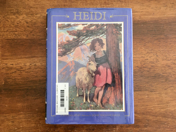Heidi by Johanna Spyri, Illustrated by Jessi Wilcox Smith, Vintage 1996, HC DJ