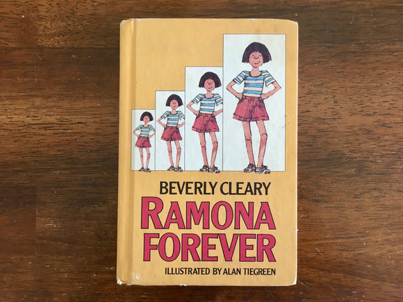 Ramona Forever by Beverly Cleary, Illustrated by Alan Tiegreen, Vintage 1984, HC
