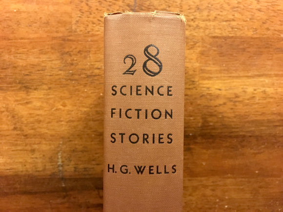 28 Science Fiction Stories by H.G. Wells, Dover Publications, Vintage 1952