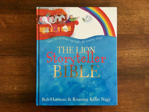 The Lion Storyteller Bible by Bob Hartman, Illustrated by Krisztina Kallai Nagy, Hardcover Book