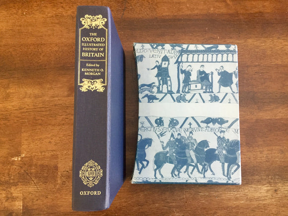 The Oxford Illustrated History of Britain edited by Kenneth O. Morgan, The Folio Society, Vintage 1985, Illustrated