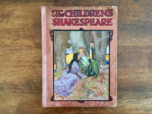 The Children's Shakespeare by Henry Frowde, Antique, Hardcover, Illustrated