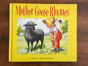 Mother Goose Rhymes, Illustrated by Eulalie, Vintage 1953, HC, Poetry