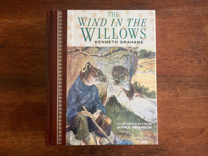 The Wind in the Willows by Kenneth Grahame, Hardcover Book, Vintage 1987, Illustrated