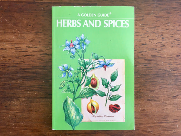 Herbs and Spices, A Golden Nature Guide, Vintage 1976, PB