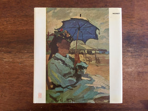 "Claude Monet, ""Skira Art Library"" Book, Vintage 1972, Hardcover Book with Dust Jacket"