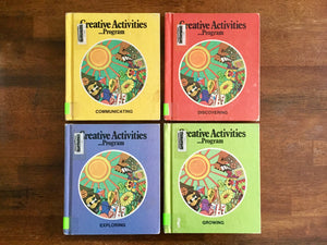 Creative Activities Program, Communicating Discovering Exploring Growing, Vintage 1974