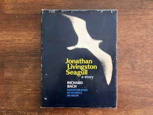 Jonathan Livingston Seagull: A Story by Richard Bach, Vintage 1970, 1st Edition, 17th Print