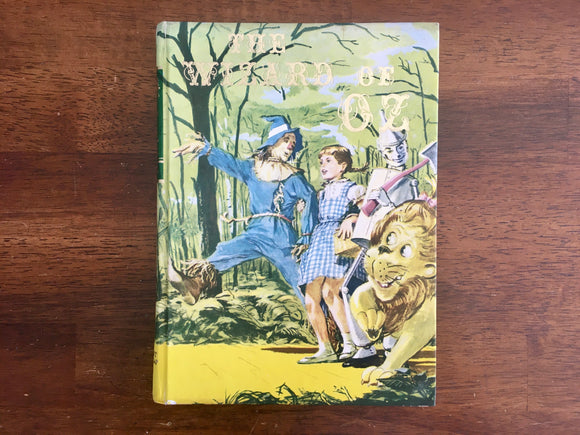The Wizard of Oz by L. Frank Baum, Illustrated Junior Library, Vintage 1976
