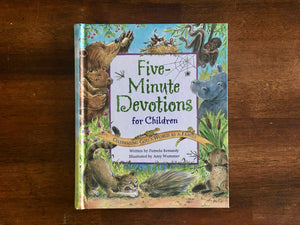 Five-Minute Devotions for Children: Celebrating God's World as a Family