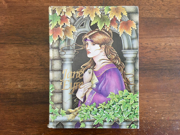 Jane Eyre by Charlotte Bronte, Junior Illustrated Library, Vintage 1992, Hardcover