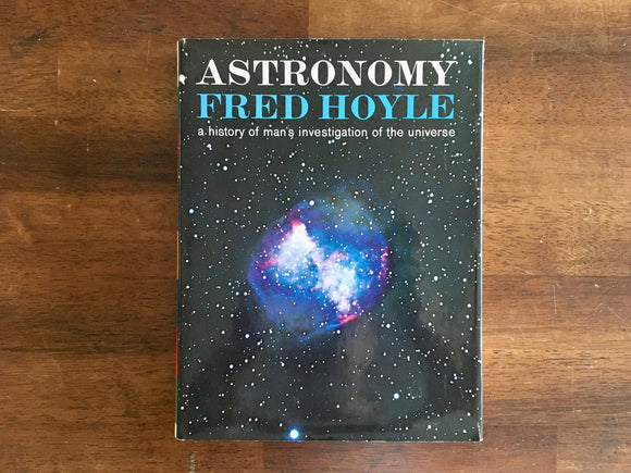 Astronomy by Fred Hoyle, Vintage 1962, HC DJ