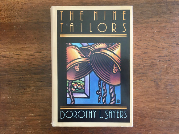 The Nine Tailors by Dorothy Sayers, Vintage 1962, Hardcover Book