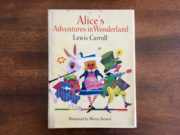 Alice's Adventures in Wonderland, Lewis Carroll, Illustrated by Moritz Kennel, HC DJ