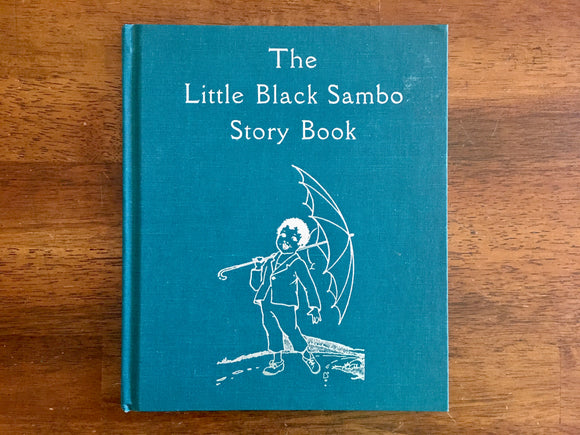The Little Black Sambo Story Book by Helen Bannerman, Vintage 1976, HC