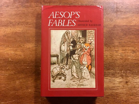 Aesop's Fables, Illustrated by Arthur Rackham, Introduction by G.K. Chesterton, Hardcover Book with Dust Jacket