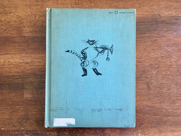 Puss in Boots by Hans Fischer, Adapted from Charles Perrault, Vintage 1959